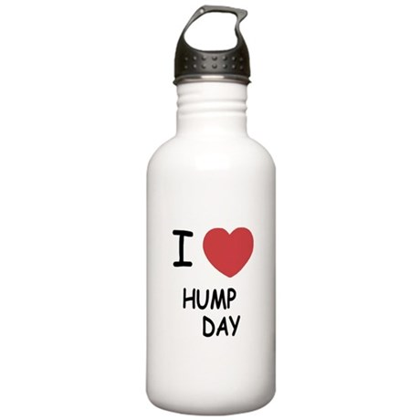 I heart hump day Stainless Water Bottle 1.0L