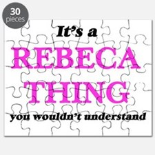 It's a Rebeca thing, you wouldn't u Puzzle