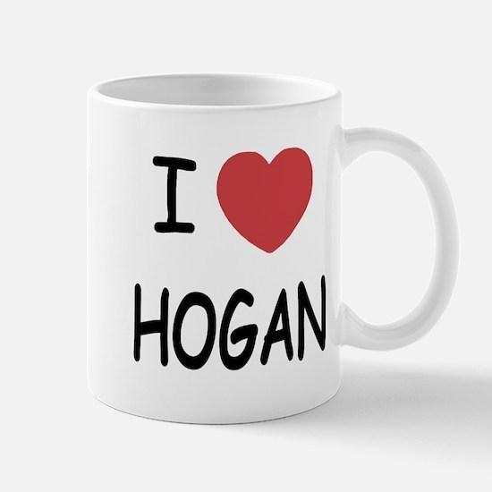 I heart hogan Mug