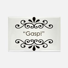 'Gasp!' Rectangle Magnet