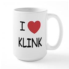 I heart klink Mug