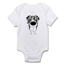 Big Nose Aussie Infant Bodysuit