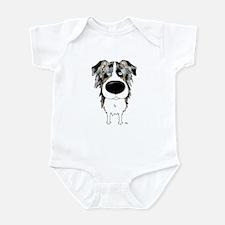 Big Nose Aussie Infant Bodysuit