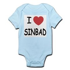 I heart sinbad Infant Bodysuit