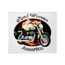 Triumph America Throw Blanket