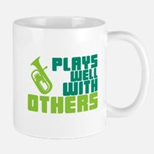 Baritone Plays Well Small Small Mug