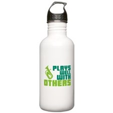 Baritone Plays Well Water Bottle