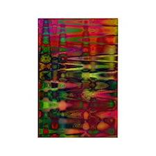 Acid Water Rectangle Magnet