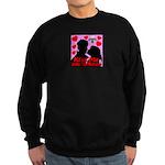 Kiss Me Under The Mistletoe Sweatshirt (dark)