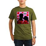 Kiss Me Under The Mistletoe Organic Men's T-Shirt