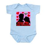 Kiss Me Under The Mistletoe Infant Bodysuit