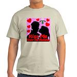 Kiss Me Under The Mistletoe Light T-Shirt