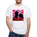Kiss Me Under The Mistletoe White T-Shirt