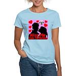 Kiss Me Under The Mistletoe Women's Light T-Shirt
