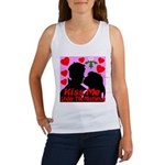 Kiss Me Under The Mistletoe Women's Tank Top