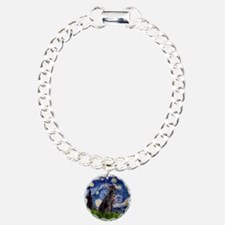 Starry Night Weimaraner Bracelet