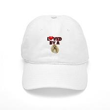 Loved by a Shih Tzu Baseball Cap