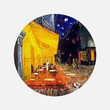 "Terrace Cafe & Corgi (Pem) 3.5"" Button"