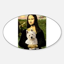 Mona and her Westie Decal