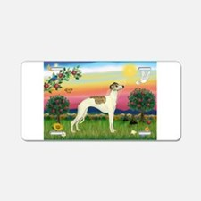 Bright Country / Whippet Aluminum License Plate