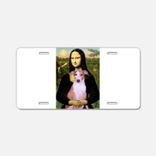 Mona's Whippet (#8) Aluminum License Plate