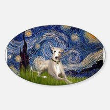 Starry Night & Whippet Decal