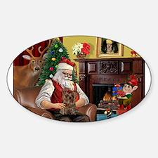 Santa's Yorkie (#11) Decal