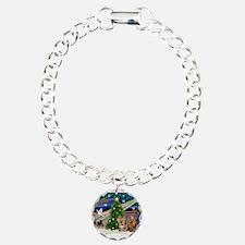 XmasMagic/Yorkies #6&7 Charm Bracelet, One Charm