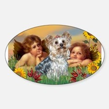 Angels with Yorkie Decal