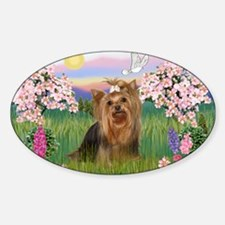 Blossoms/Yorkie #7 Decal