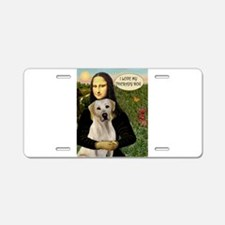 Mona's Therapy Lab (Y) Aluminum License Plate