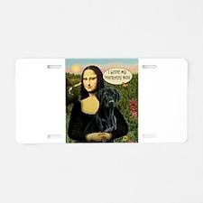 Mona's Black Lab (TH) Aluminum License Plate