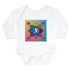 Many Paths Long Sleeve Infant Bodysuit