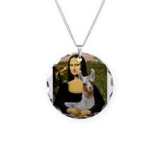 Mona's Baby Llama Necklace