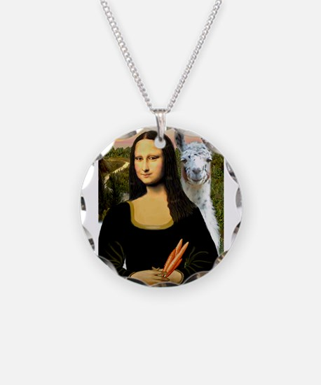 Mona Lisa's Llama Necklace