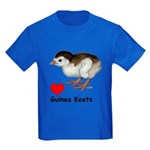 Love Guinea Keets Kids Dark T-Shirt
