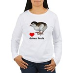 Love Guinea Keets Women's Long Sleeve T-Shirt