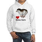Love Guinea Keets Hooded Sweatshirt