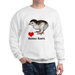 Love Guinea Keets Sweatshirt