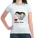 Love Guinea Keets Jr. Ringer T-Shirt
