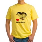 Love Guinea Keets Yellow T-Shirt