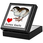 Love Guinea Keets Keepsake Box