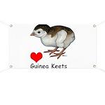 Love Guinea Keets Banner