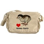 Love Guinea Keets Messenger Bag