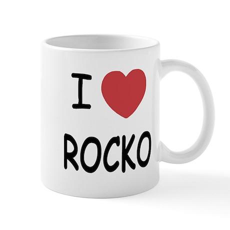 I heart rocko Mug