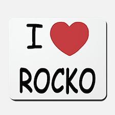 I heart rocko Mousepad