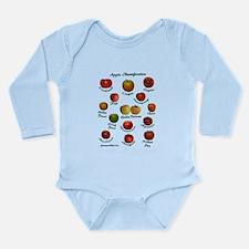 Apple ID Long Sleeve Infant Bodysuit