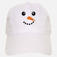 FROSTY SNOWMAN FACE Baseball Baseball Cap