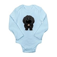 Big Nose Newfie Long Sleeve Infant Bodysuit