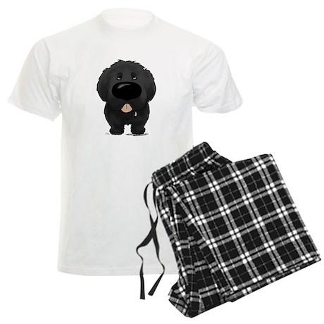 Big Nose Newfie Men's Light Pajamas